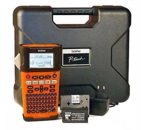 Drukarka etykiet Brother PT-E300VP zestaw walizkowy do 18mm KUP z zamiennikami i oszczędzaj! - ZADZWOŃ 730 811 399