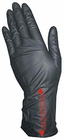 COIPRO winylowe rękawice z mankietem XL bez talku, małe, 100 sztuk