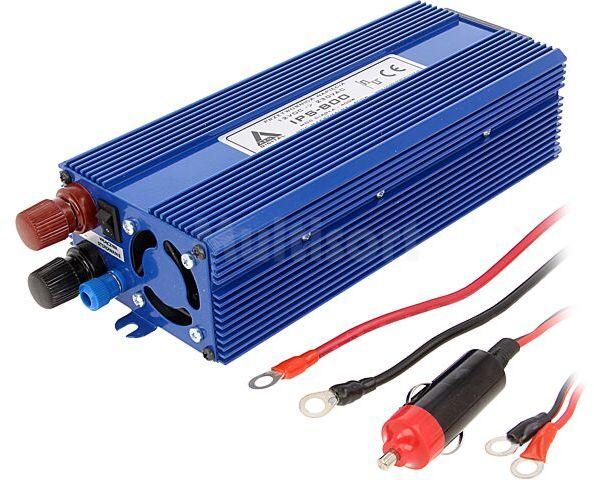 Przetwornica samochodowa IPS-800 dc/ac 400W 12VDC/230VAC