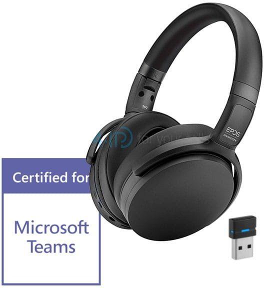Epos/Sennheiser ADAPT 360 bezprzewodowa słuchawka Bluetooth z aktywną redukcją hałasu (kolor czarny)