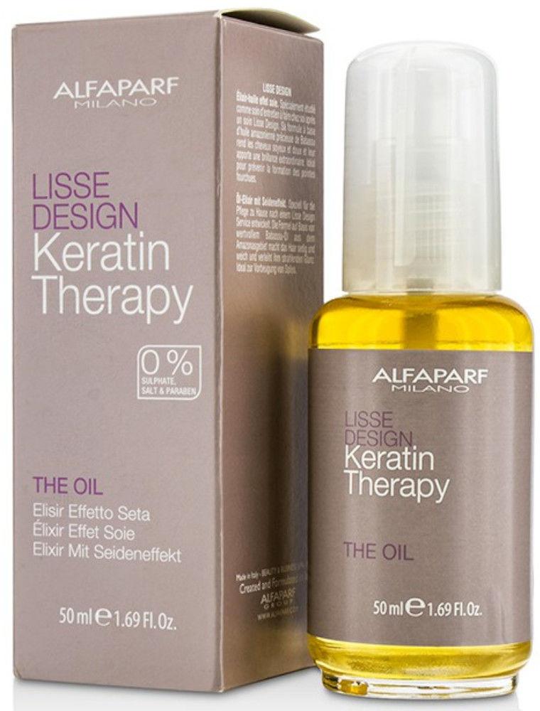 Alfaparf Lisse Design Keratin Therapy The Oil olejek do włosów 50ml