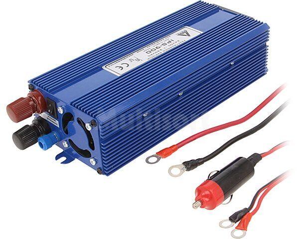 Przetwornica samochodowa IPS-900 dc/ac 500W 24VDC/230VAC