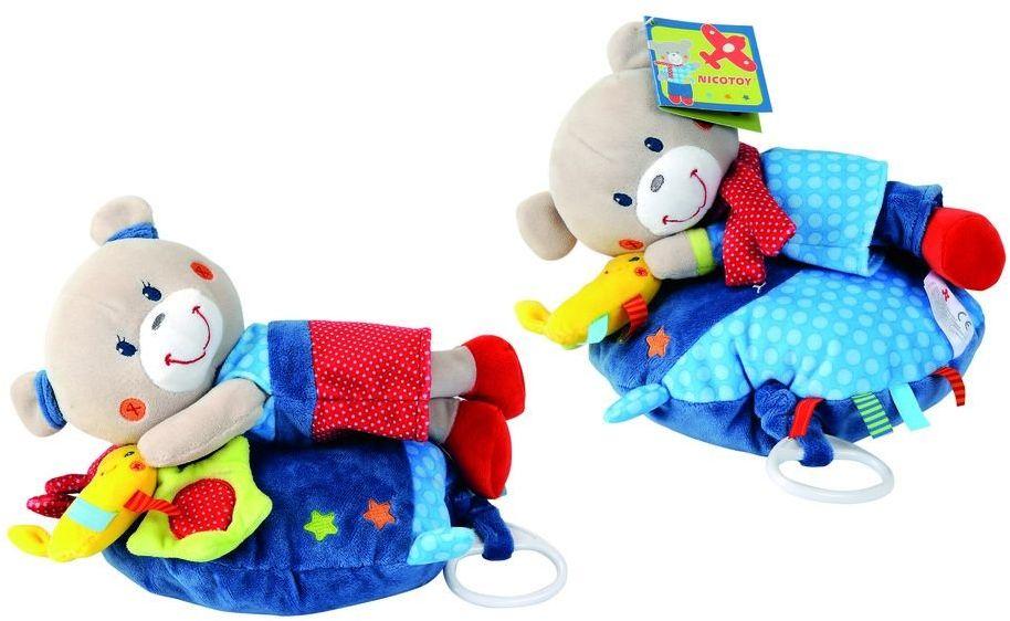 Simba 6305799834 - Nicotoy Baby poduszka muzyczna, Dans La Lune