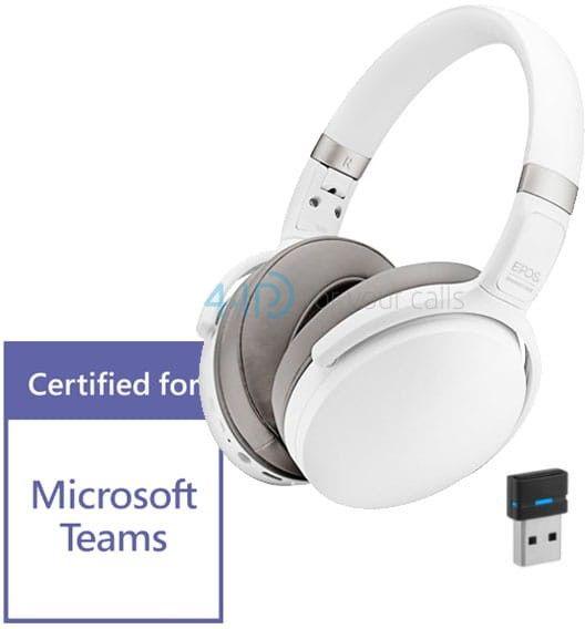 Epos/Sennheiser ADAPT 360 bezprzewodowa słuchawka Bluetooth z aktywną redukcją hałasu (kolor biały)