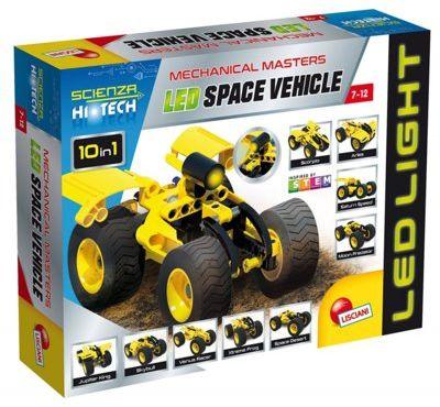 Klocki konstrukcyjne LISCIANI GIOCHI Hi Tech Pojazd kosmiczny Led. > DARMOWA DOSTAWA ODBIÓR W 29 MIN DOGODNE RATY