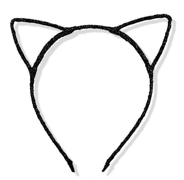 Opaska kotek czarna 1 sztuka K20C