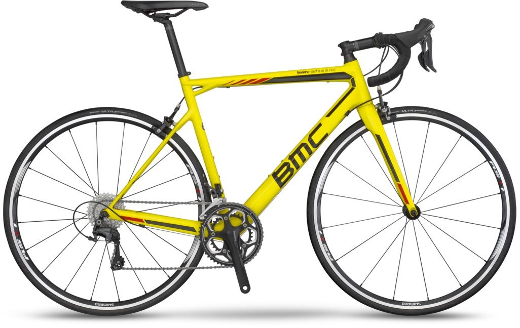 BMC Teammachine SLR03 Ultegra 51cm CT Yellow/ GCPB Tai
