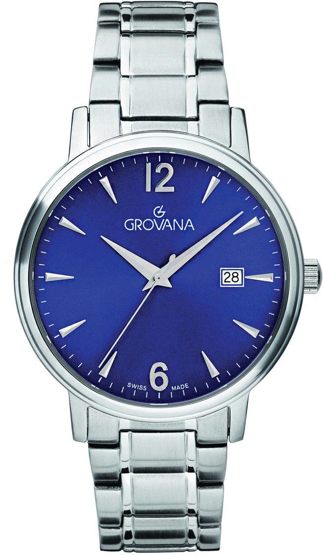 Zegarek Grovana 1550.1135 - CENA DO NEGOCJACJI - DOSTAWA DHL GRATIS, KUPUJ BEZ RYZYKA - 100 dni na zwrot, możliwość wygrawerowania dowolnego tekstu.