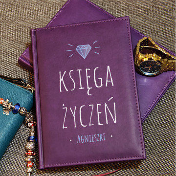 Księga Życzeń - notatnik A5 z nadrukiem