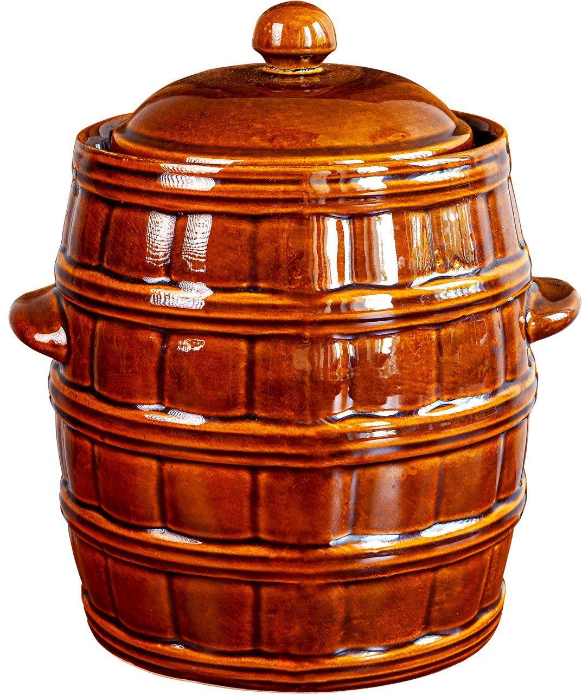 Kamionka - beczka z uszczelką wodną, 8 L