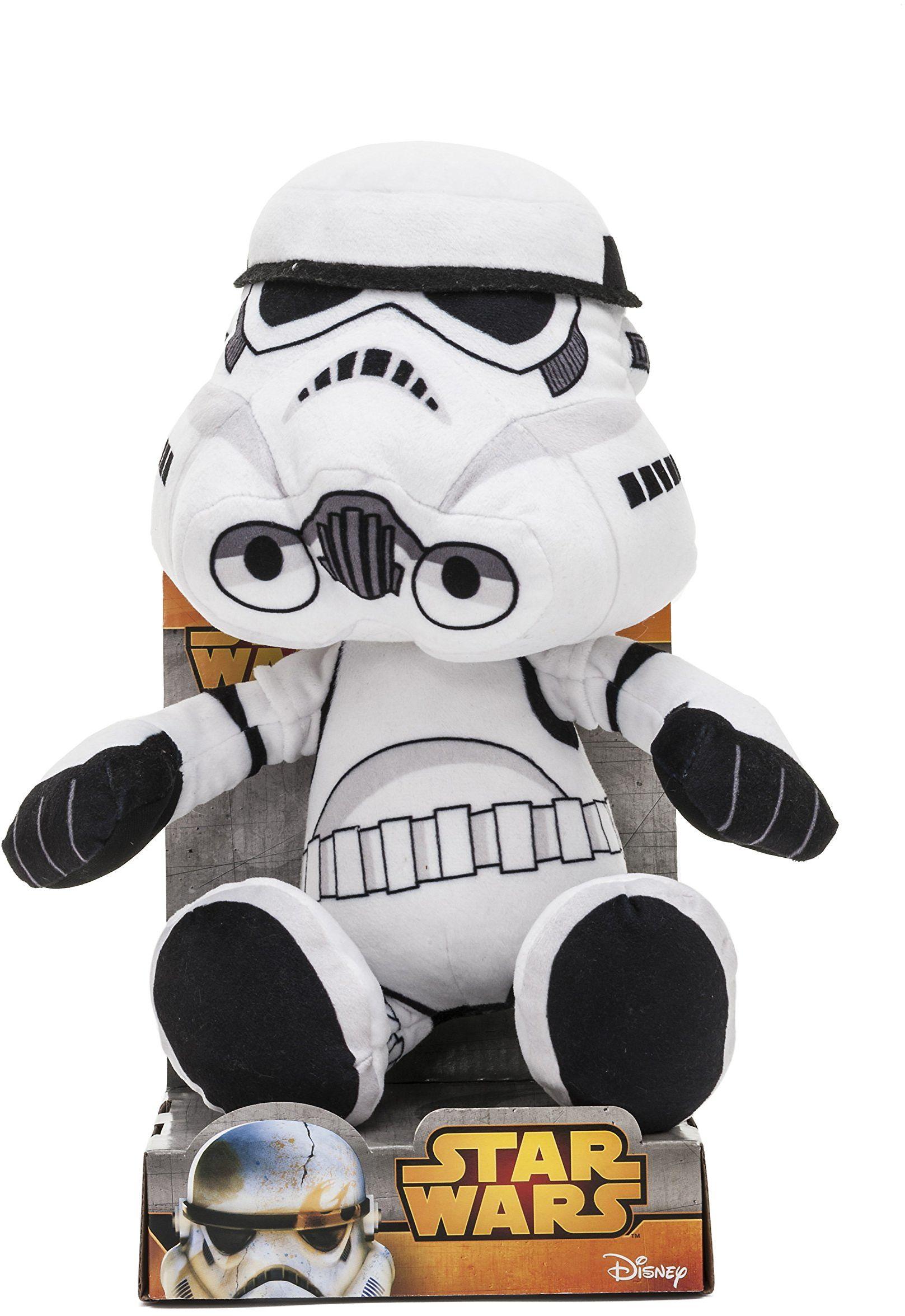 Joy Toy 1400621 25 cm Gwiezdne Wojny Sztorm Trooper Velboa aksamitna pluszowa zabawka w pudełku wystawowym