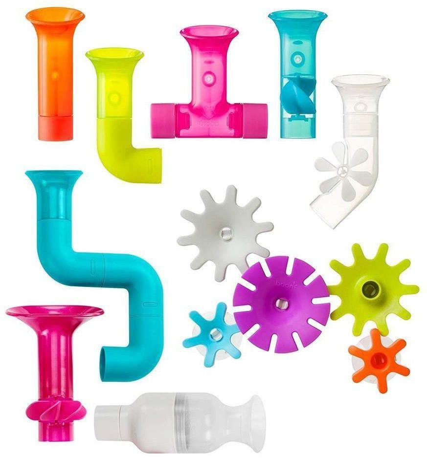 Zestaw zabawek do wody Pipes Cogs Tubes B11342-Boon, akcesoria do kąpieli