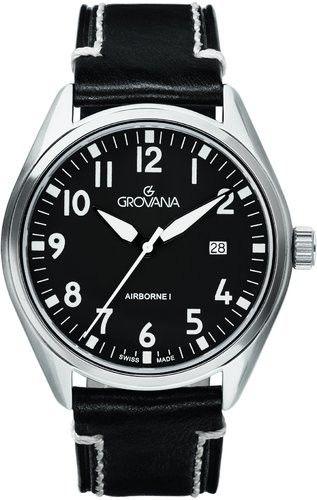 Zegarek Grovana 1654.1537 AIRBORNE I - CENA DO NEGOCJACJI - DOSTAWA DHL GRATIS, KUPUJ BEZ RYZYKA - 100 dni na zwrot, możliwość wygrawerowania dowolnego tekstu.