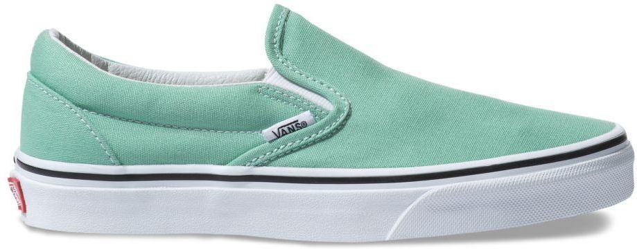 obuwie VANS CLASSIC SLIP-ON Neptune Green/True White