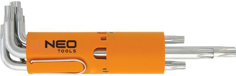 Klucze Torx długie T10-T50 09-524 /zestaw 8 szt./
