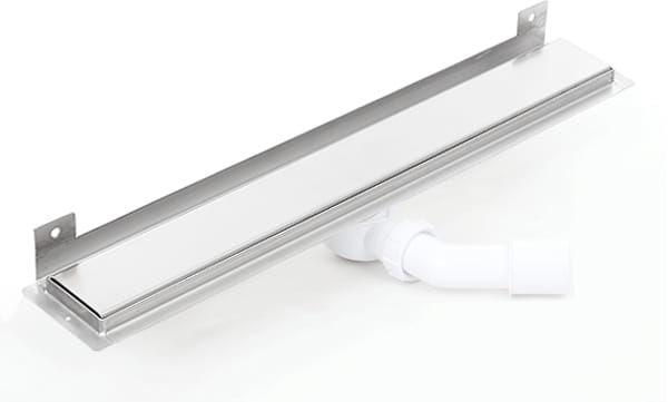 Kesmet Wall Silver Smooth odpływ ścienny 900KWF_p 900mm (syfon plastikowy)
