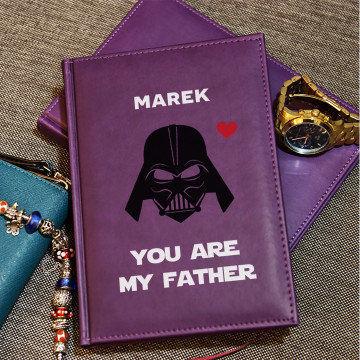 Vader Dad - notatnik A5 z nadrukiem