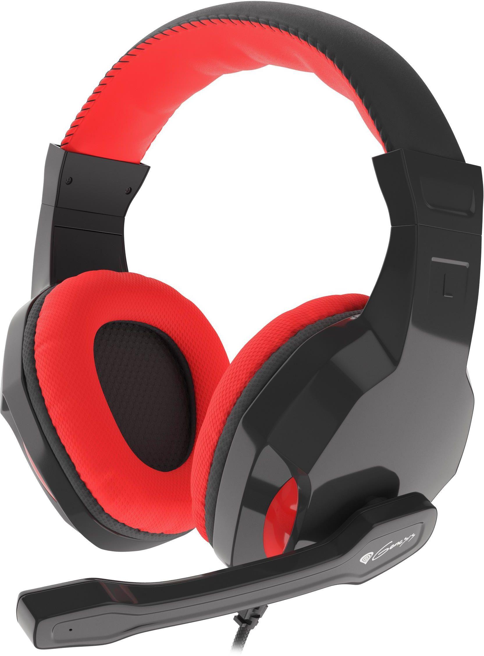 Słuchawki z mikrofonem NATEC Genesis Argon 100 NSG-1433 (kolor czarny)
