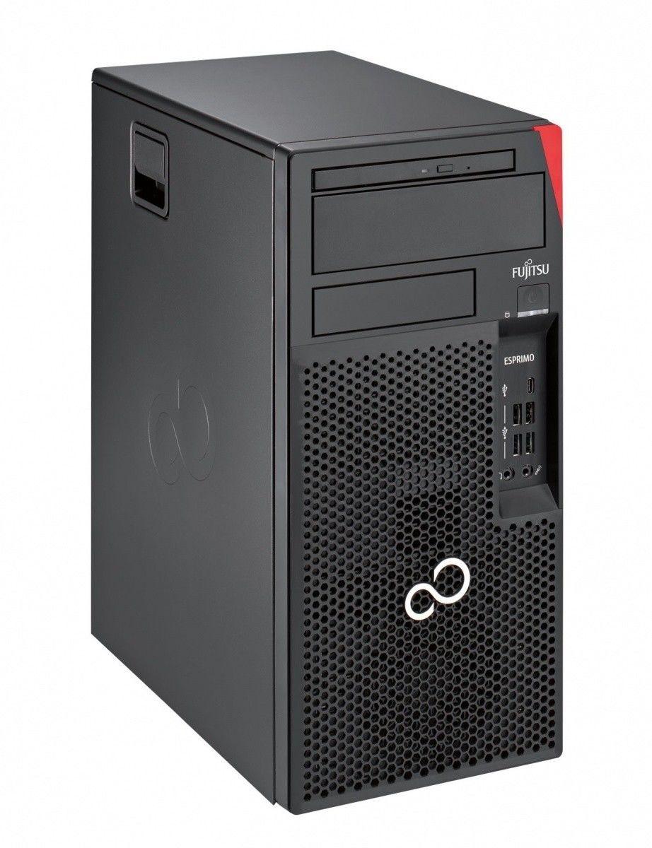Komputer PC Fujitsu Esprimo P558 i3-9100 8GB 256GB SSD DVDRW Windows10 Pro. 3 lata gwarancji w miejscu użytkowania.