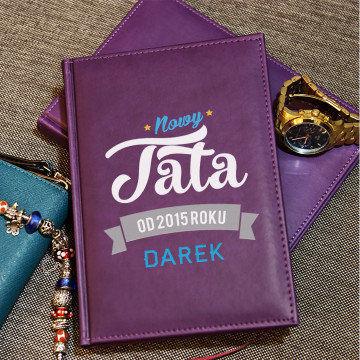 Nowy Tata - notatnik A5 z nadrukiem