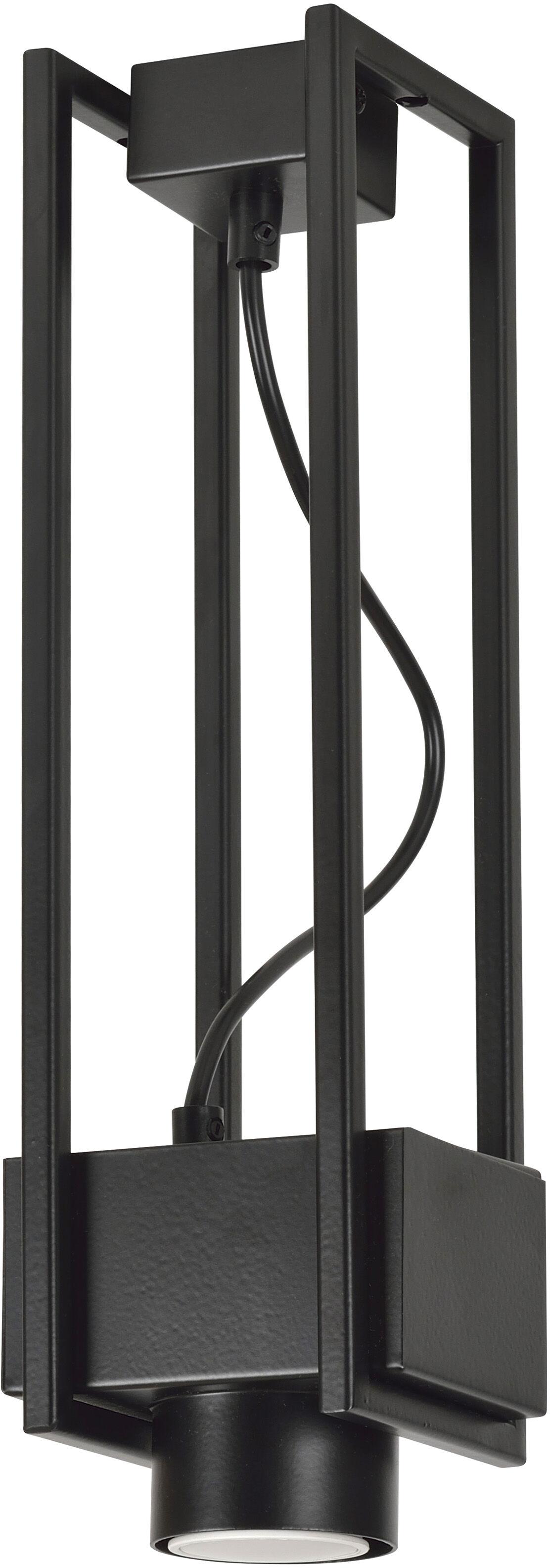 Emibig APOLLO 1 BACK 664/1 lampa wisząca nowoczesna spot design czarna metal 1x30W GU10 38cm