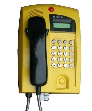 ATP-3 Telefon przemysłowy z prezentacją numeru - Telos