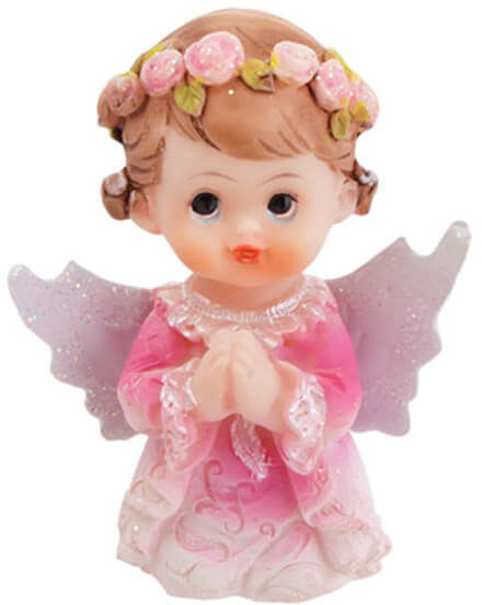 Figurka gipsowa komunijna dziewczynka, 4,5 cm, 1 szt.