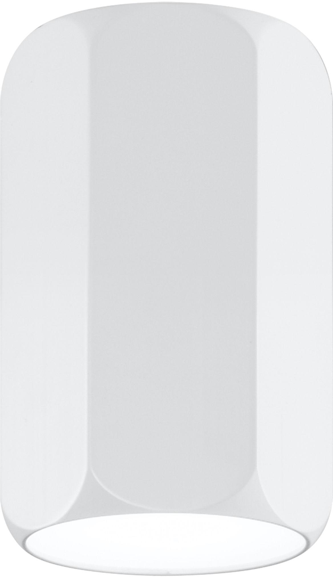 Candellux TUBA 2282855 oprawa stropowa natynkowa sześciobok aluminium biała 1X25W GU10 25 cm