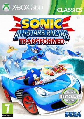 Sonic All-Stars Racing Transformed X360