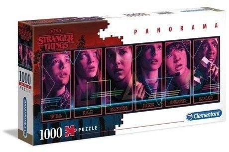 Puzzle Clementoni 1000 - Stranger Things panorama