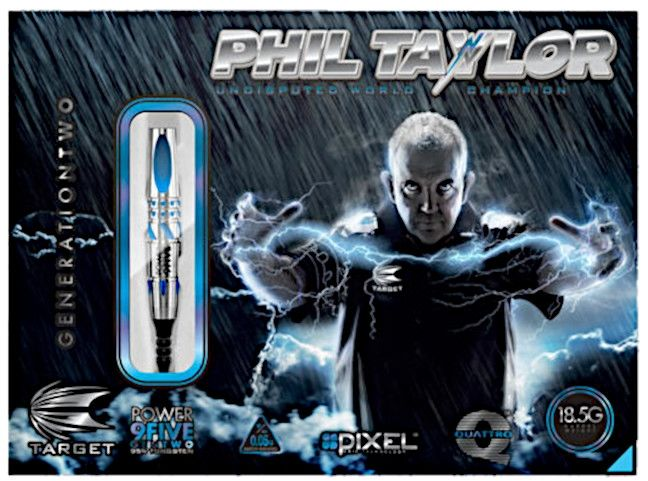 Lotki Target Phil Taylor Power 9-Five Gen 2 Japan Edition (soft tip)