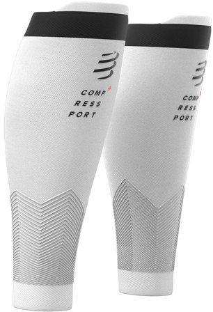 COMPRESSPORT Opaski kompresyjne na łydki R2v2 białe