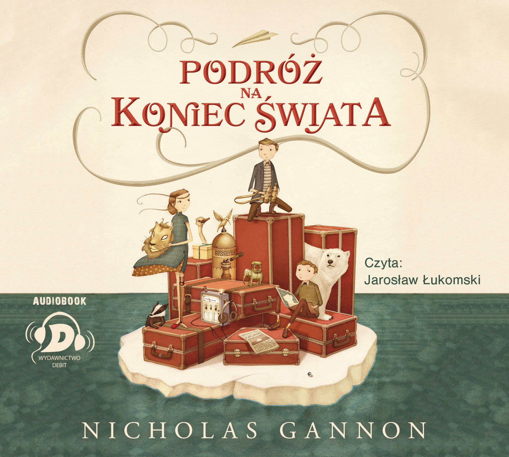 Podróż na koniec świata - Nicholas Gannon - audiobook