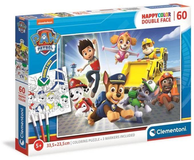 Puzzle 60 happy color Psi Patrol 26097 - Clementoni