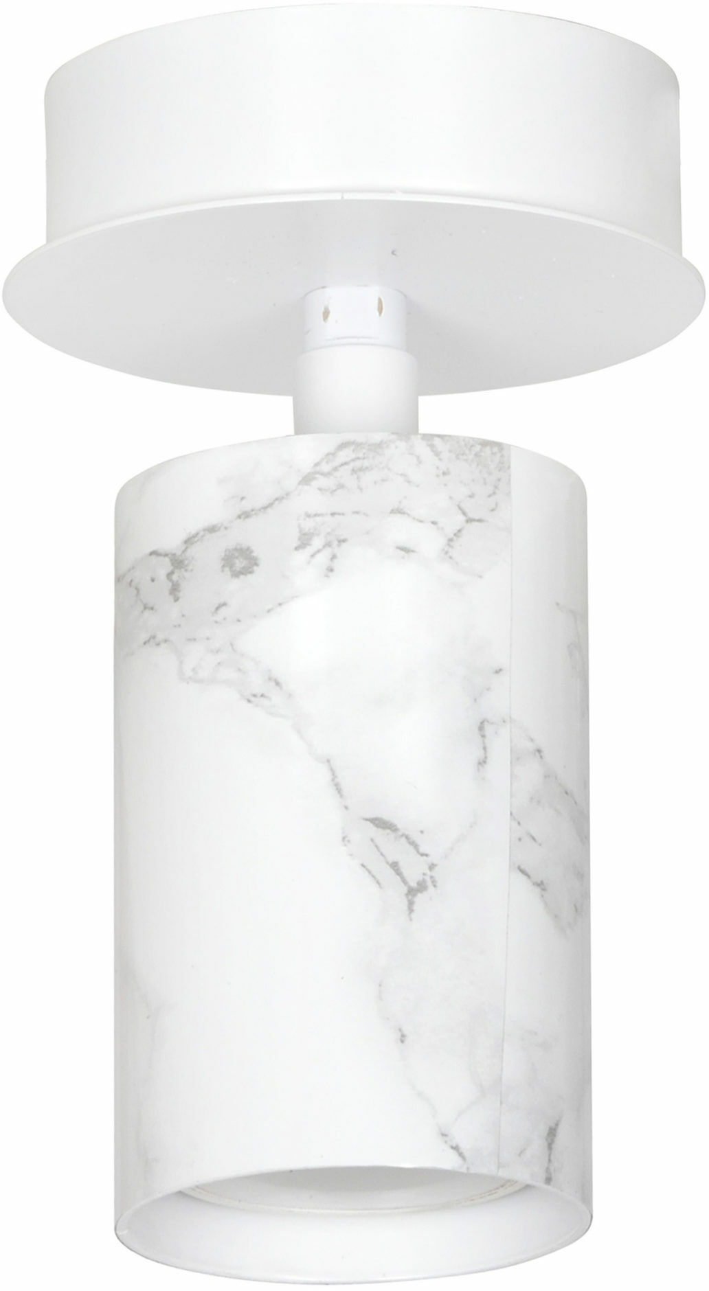 Emibig TENT 1 WHITE 592/1 plafon lampa sufitowa reflektor halogen LED regulowany biały 1x30W Gu10 8cm