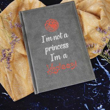 I m Khaleesi - notatnik A5 z nadrukiem