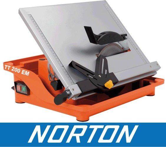 NORTON CLIPPER TT200 EM PIŁA PILARKA PRZECINARKA DO GRESU CERAMIKI GLAZURY PŁYTEK BUDOWLANA + WALIZKA OFICJALNY DYSTRYBUTOR - AUTORYZOWANY DEALER NORTON CLIPPER
