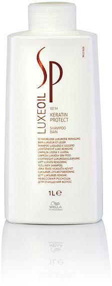 Wella SP Luxe Oil Keratin Protect Keratynowy szampon regenerujący do włosów zniszczonych i suchych 1000 ml