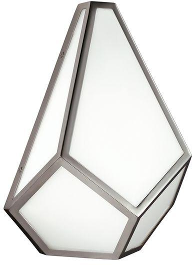 Kinkiet Diamond FE/DIAMOND1 Feiss biała oprawa w stylu design