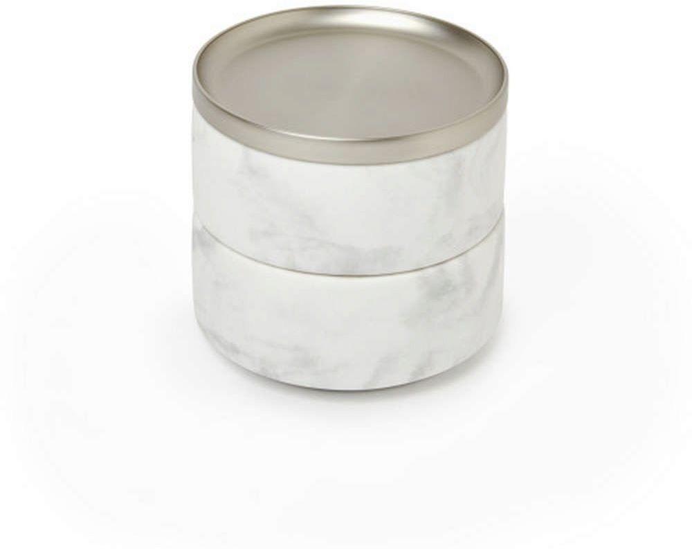 Umbra - pudełko na biżuterię tesora, białe