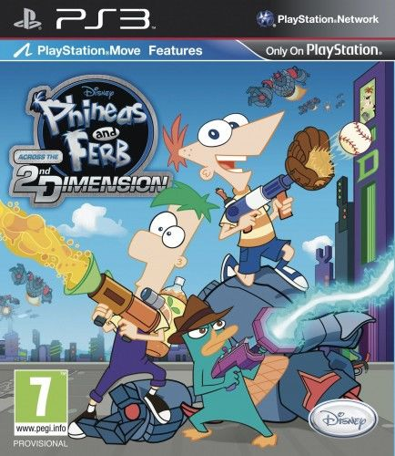 Phineas & Ferb Across 2nd Dimension PS3