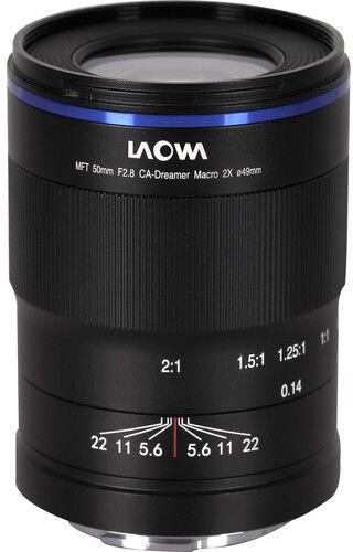 Laowa 50mm f/2.8 2X Ultra Macro - obiektyw stałoogniskowy, MFT Laowa 50mm f/2.8 2X Ultra Macro