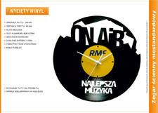 Zegar reklamowy płyta vinylowa #2
