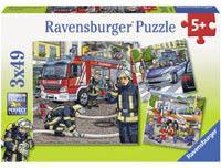 Ravensburger - Puzzle 3 x 49 elem.093359