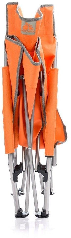 Leżak plażowy Meteor Coast pomarańczowy