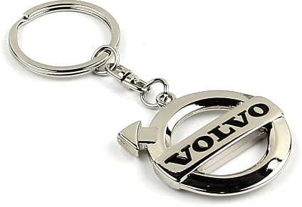 KeyChain Ltd. Brelok metalowy - czarny - Volvo