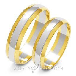 Obrączki ślubne Złoty Skorpion  wzór Au-A-211