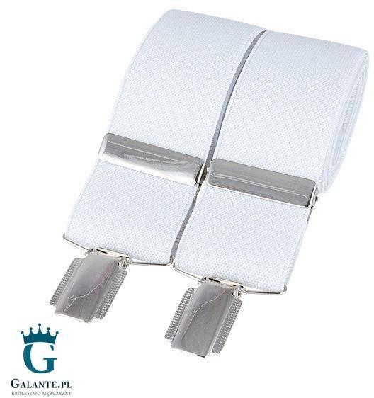 Szelki do spodni białe br-002