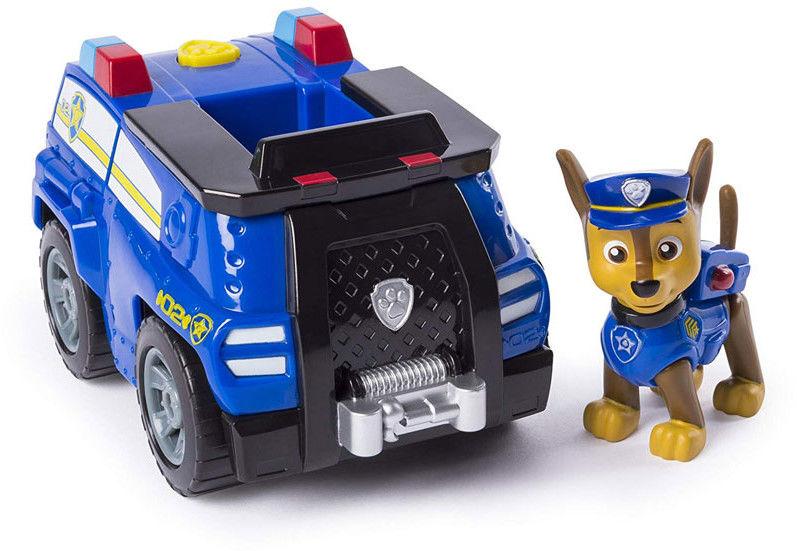 Psi Patrol - Pojazd z figurką Chase 20101571