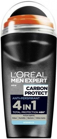 LOréal Paris Men Expert Carbon Protect antyperspirant roll-on 50 ml + do każdego zamówienia upominek.